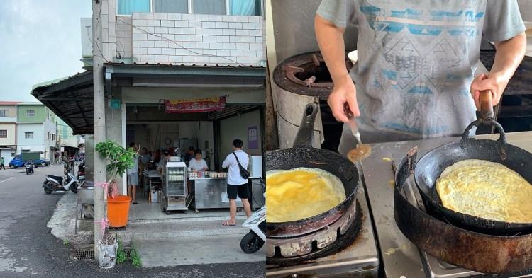 國安街蛋餅素食早餐|國安市場旁的無名素食早餐店,開了幾十年,人潮依舊絡繹不絕,招牌的自製蛋餅糊是不錯的選擇喔!