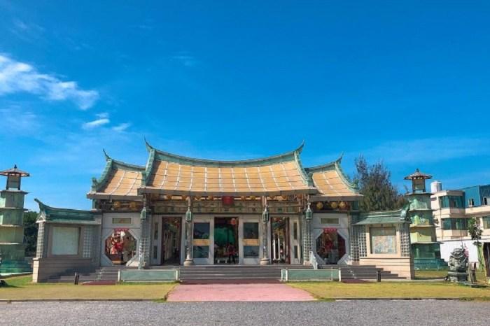 玻璃媽祖廟-台灣護聖宮 矗立在工業區裡面,寺廟皆以玻璃來建設..處處可看到特別之處,景點不大..但非常適合拍照!