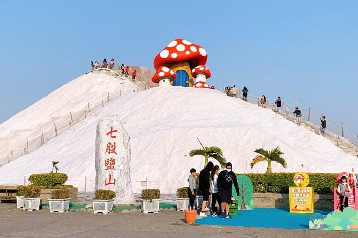七股鹽山|一個結合歷史、產業、文化、藝術與生態的遊憩園區!