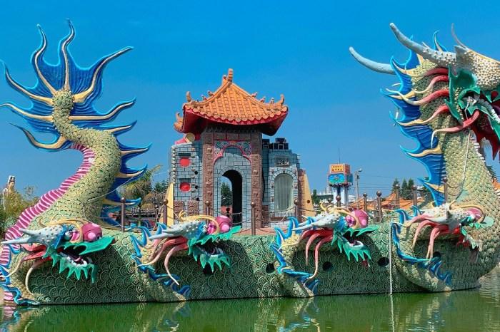 馬鳴山鎮安宮五年千歲公園|雲林超夯免門票景點,充滿特色的奇山異石唯美高山石林的庭院景觀!