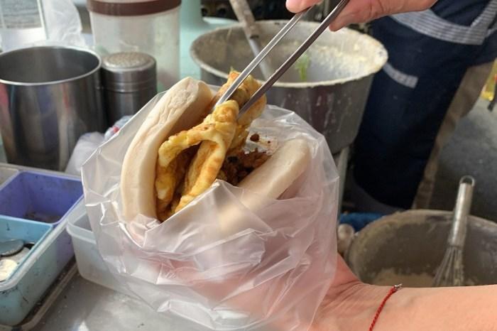 阿美麵糊蛋餅|國安街早餐現點現煎的傳統蛋餅!台南早餐人氣蛋餅!