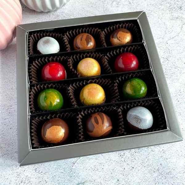 Sweet Mix 12er zuckerfreie Pralinen