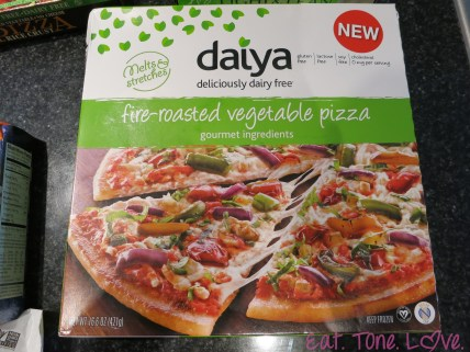 Daiya Fire Roasted Veggie Pizza