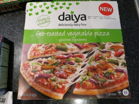 Daiya Fire Roasted Veggie Pizza (GF Vegan)