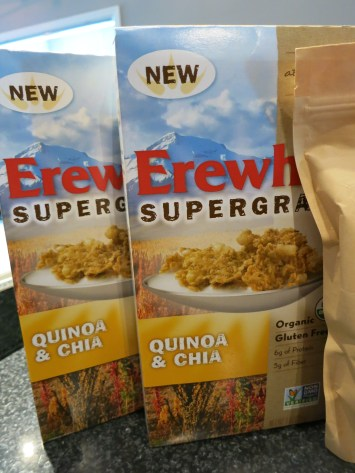 Erewhon Quinoa and Chia Cereal (GF vegan)