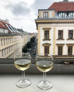wine in vienna, austria