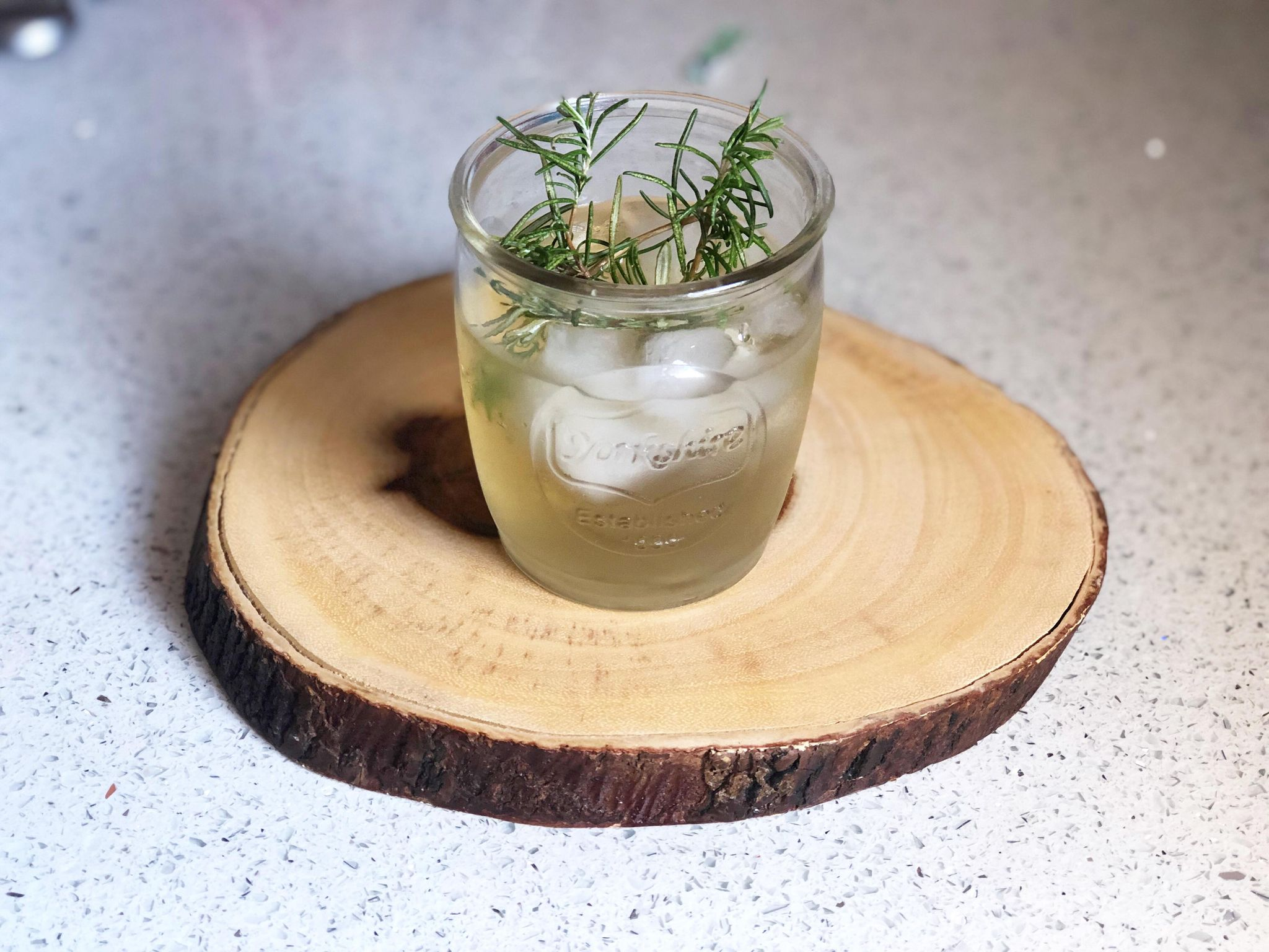 cucumber and mint cooler cocktail