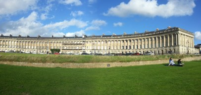 The grand Royal Crescent