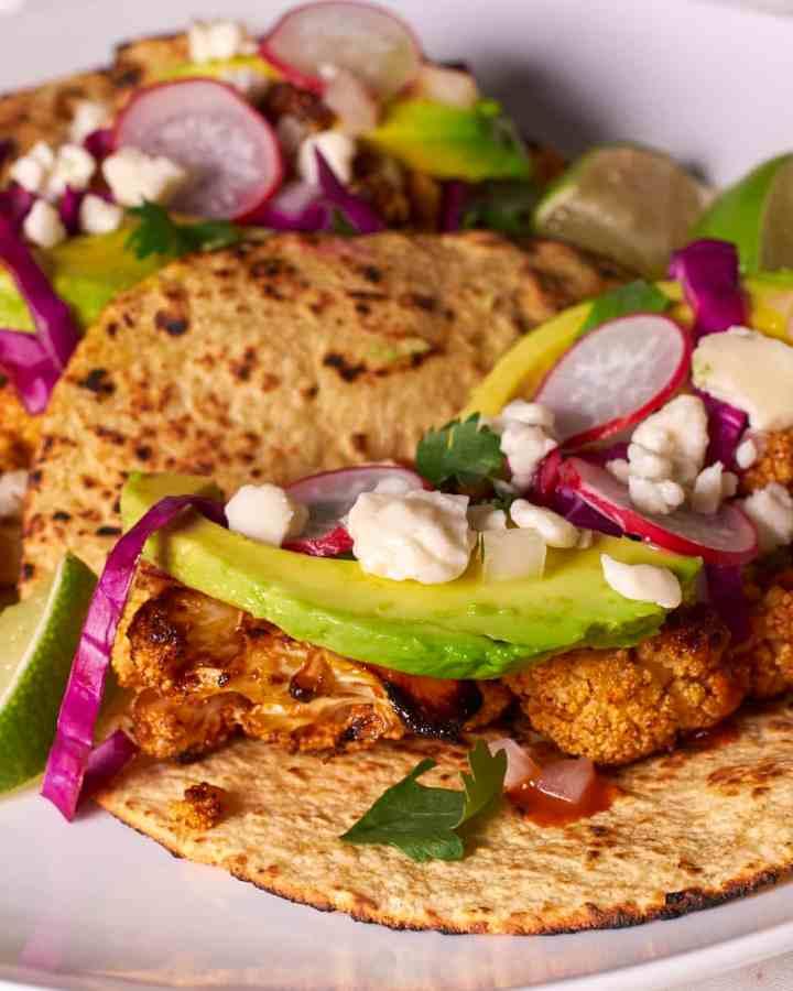 Roast Cauliflower Tacos