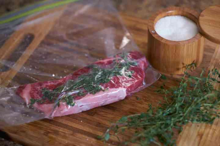 SousVide Strip Steak