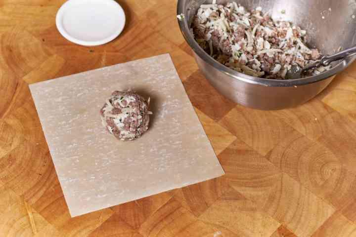 Meatball Eggrolls