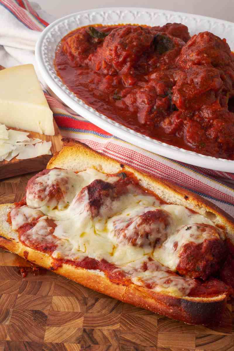 Meatball Parm with Provolone