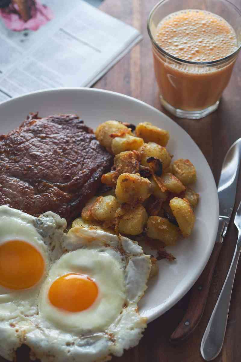Steak & Eggs with Breakfast Potatoes