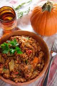 Lentil Pumpkin Stew