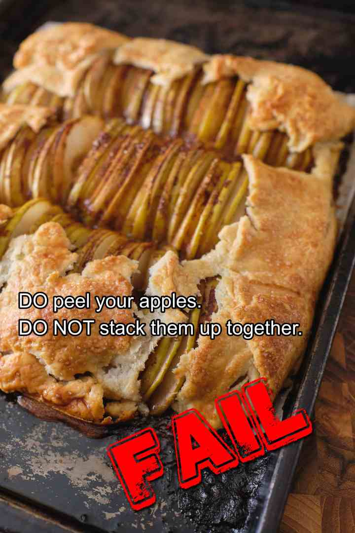 Apple Galette - FAIL