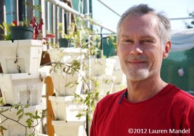 """Open-Air Hydroponics"" - I Grow My Own Veggies, FL    (c)2012 Lauren Mandel"