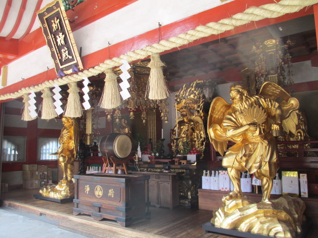 Car Kitōden - Branch Temple of Mt.Takao Yakuōin(高尾山自動車祈祷殿)