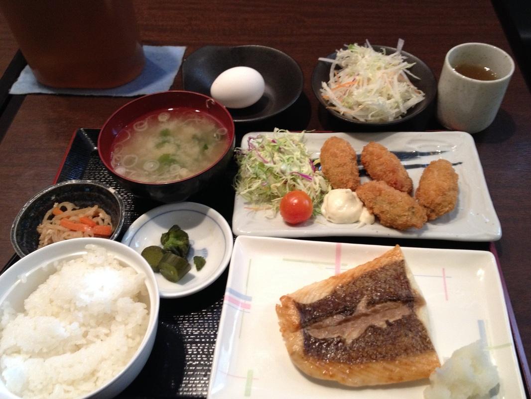 Uofuku(魚福) - Lunch - 850 yen