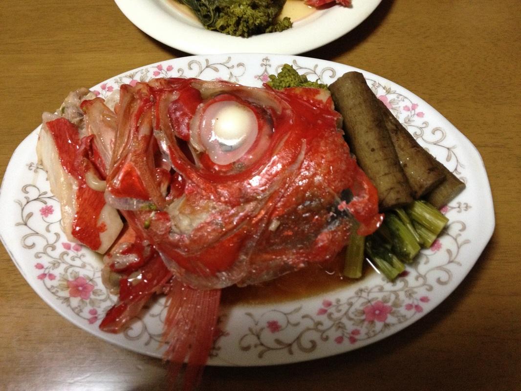 Kinme Dai(金目鯛)/Splendid Alfonsino - Cooked by me
