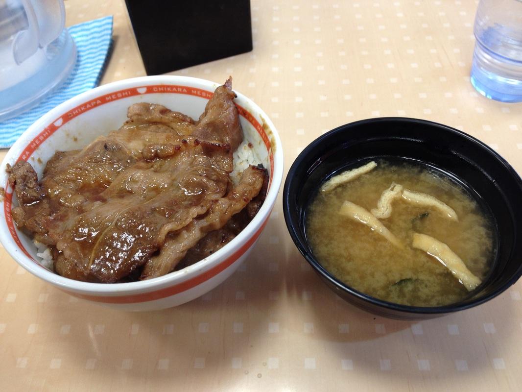 Tokyo Chikara Meshi, Gyudon, Japan