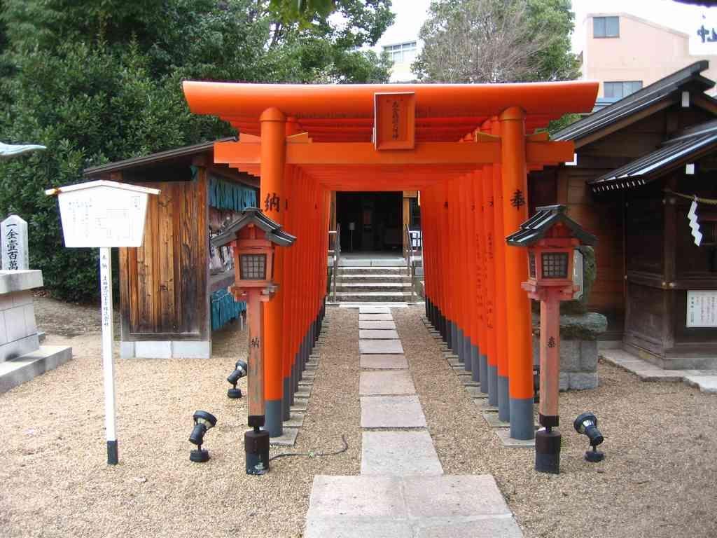 Wada Shrine(和田神社) Reference From: 神戸の空の下で
