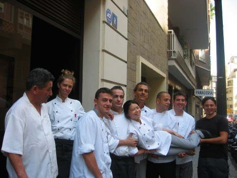 Freixa chef team
