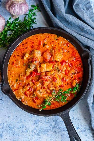 Creole fish curry image