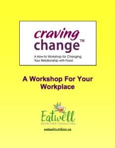 Craving Change – A workshop for your workplace