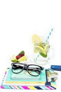 Summer fresh food fruit beverage note 2