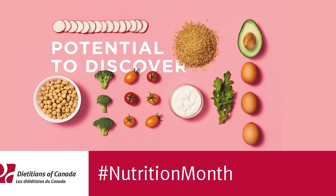 Nutrition Month 2018: Unlock the potential of food by boosting food skills