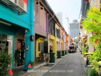 Haji Lane, Chinatown, quelques jours à Singapour