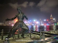 Bruce Lee, Avenue of the stars, Hong Kong