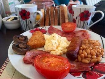 Roadtrip dans les Cornouailles - english breakfast