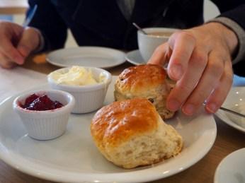 Roadtrip dans les Cornouailles - cream tea