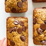 Oat Chocolate Chip Banana Bread