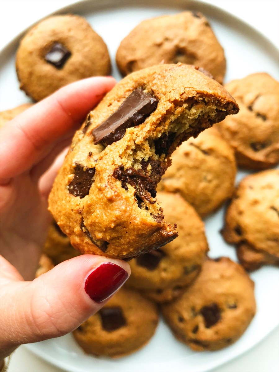 Classic Chocolate Chip Peanut Butter Cookies (GF)