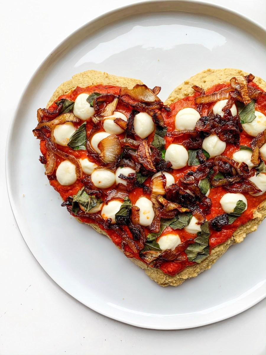 GF LOADED VEGGIE PIZZA