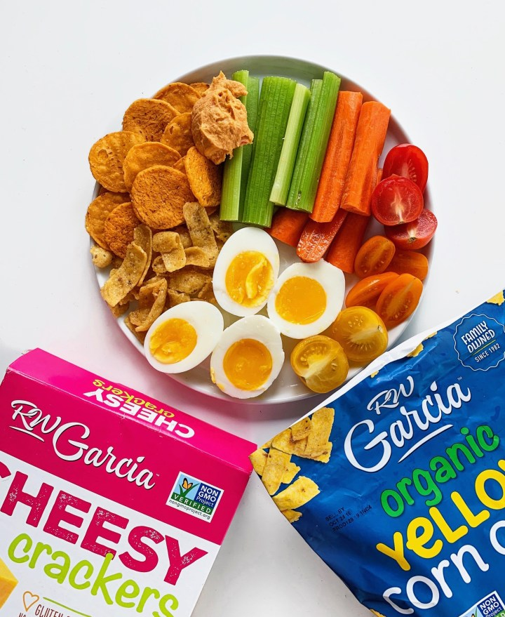 Healthy Savory Snack Plate
