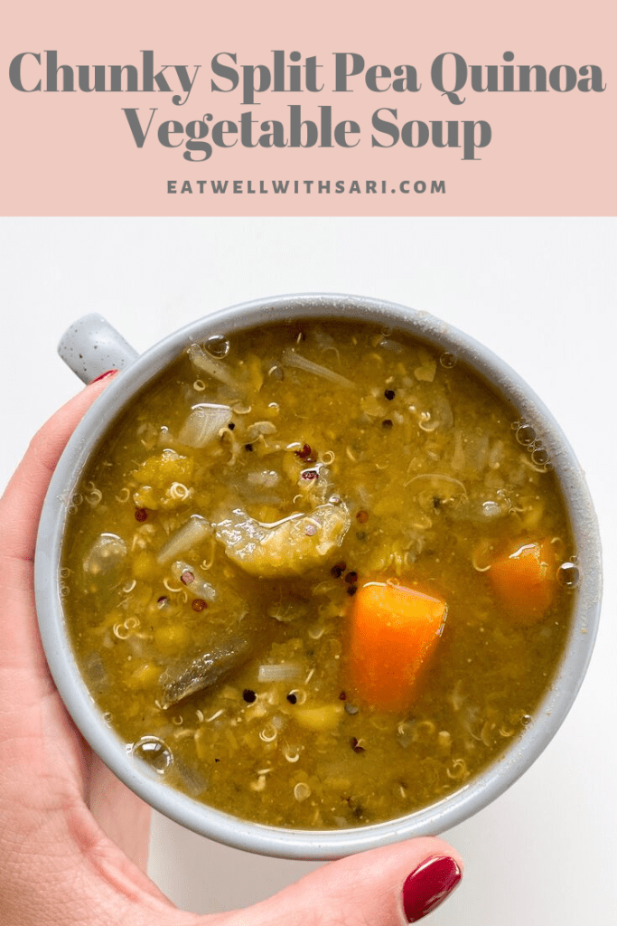 Chunky Split Pea Soup Pin