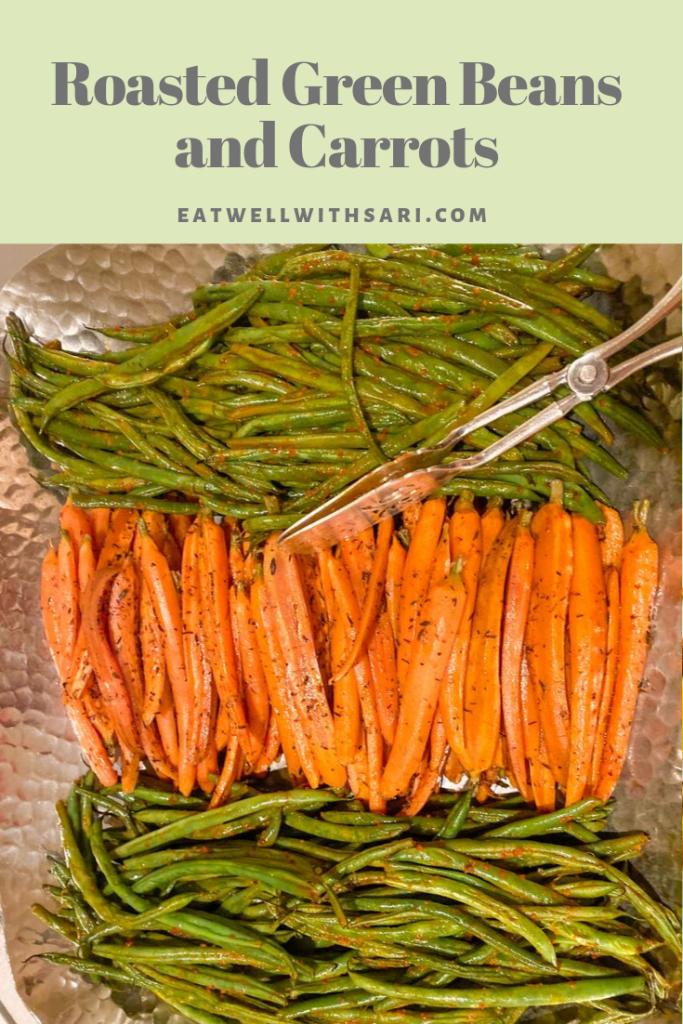 Carrots and Green Beans Pin