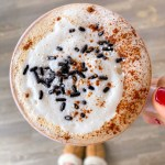 Healthy Homemade Peppermint Mocha