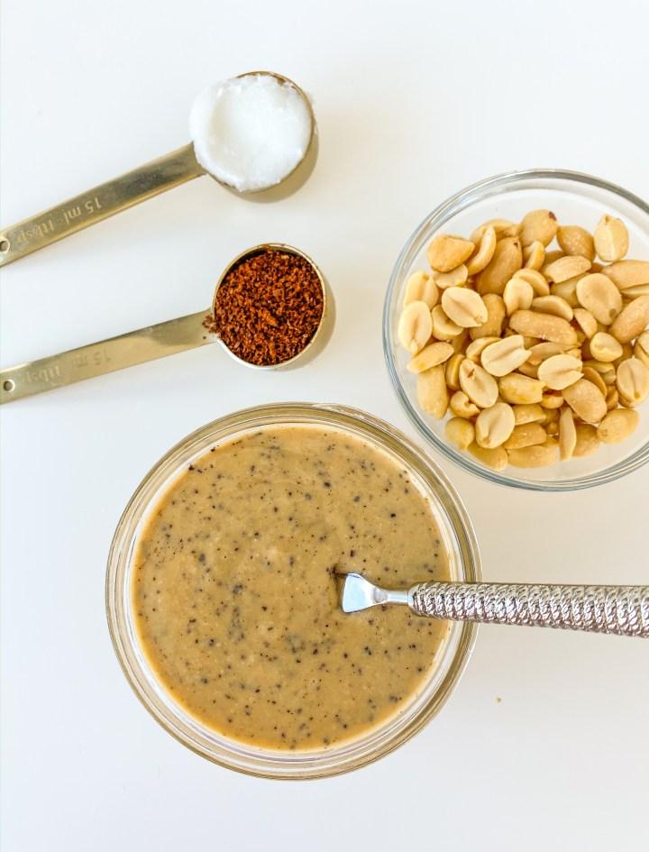 Homemade Espresso Peanut Butter