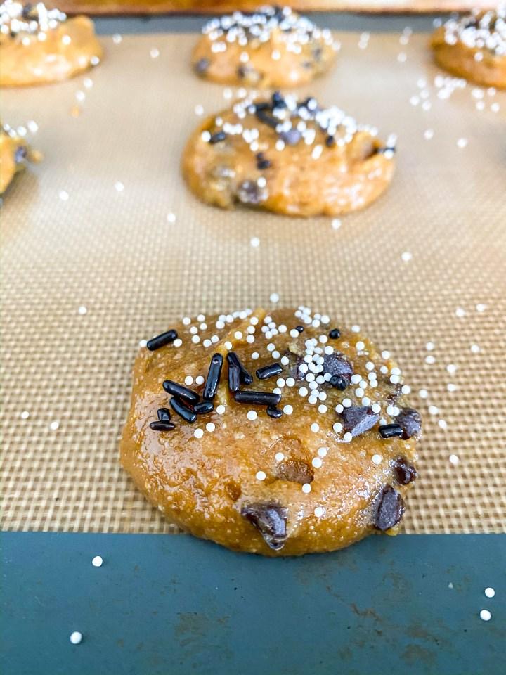 Gluten Free Nut Butter Chocolate Chip Cookies