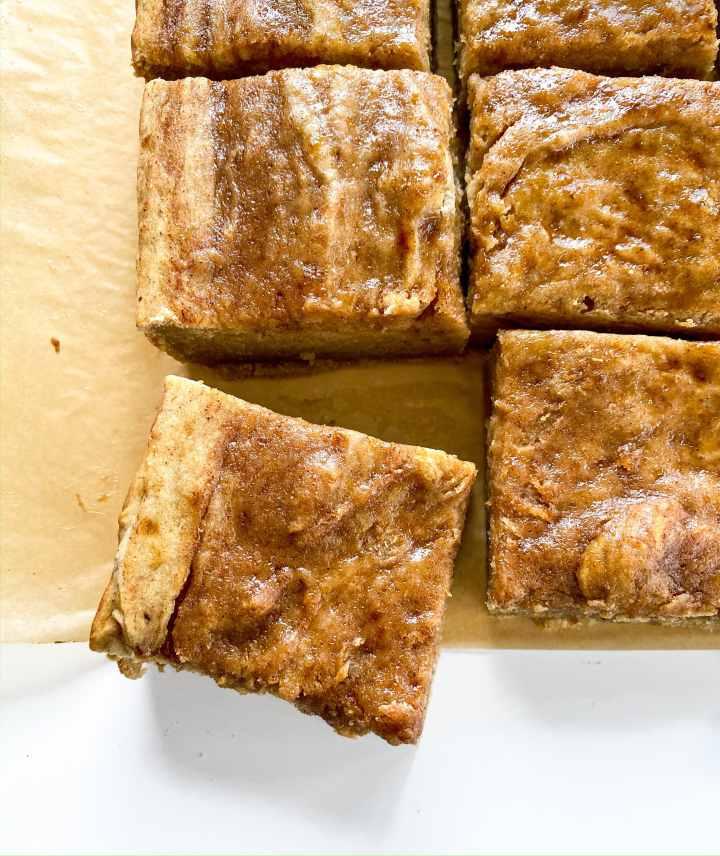 Honey Cinnamon Swirl Banana Bread Cake