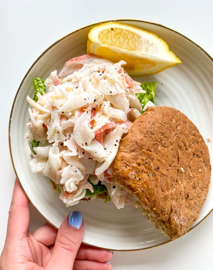 Crab Salad Sliders