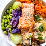 Sweet Sesame Salmon Bowl
