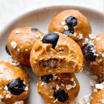 Peanut Butter Blueberry Energy Bites