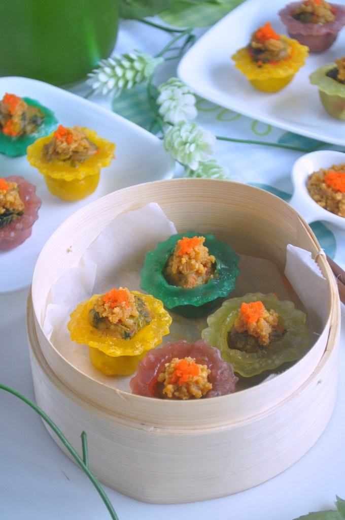 Rainbow Veggie Crystal Dumplings_4