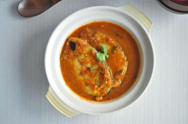 Assam Curry Fish 3