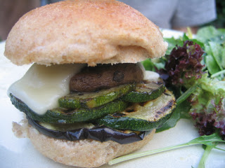 One Local Summer Week #4 – Mini Portobello Burgers